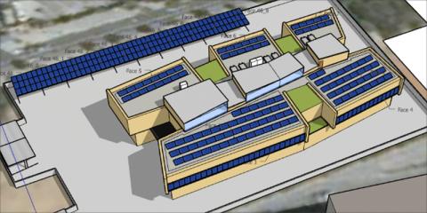 Nuevo edificio de Brigadas de Sant Boi: Máxima cobertura renovable y control energético avanzado – Buscando la máxima eficiencia y resiliencia