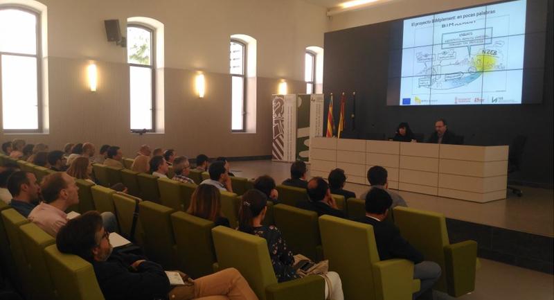 Figura 2. Campaña de concienciación celebrada en la sede de la Generalitat Valenciana (Valencia, mayo 2018).