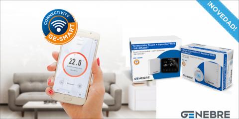 Control del consumo energético con la nueva línea de climatización Ge-Smart de Genebre
