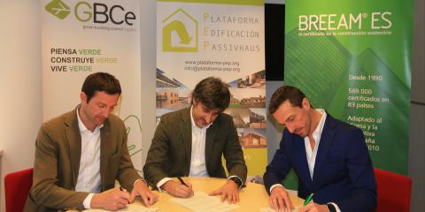 GBCe, BREEAM y PEP colaboran para facilitar la adopción de los tres estándares de edificación sostenible