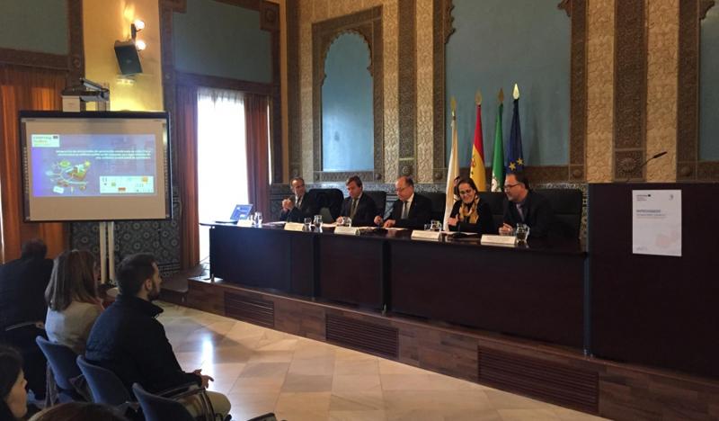 Reunión en la Universidad de Córdoba