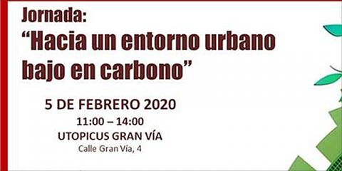 Jornada 'Hacia un entorno urbano bajo en carbono' para debatir en Madrid sobre la descarbonización en ciudades