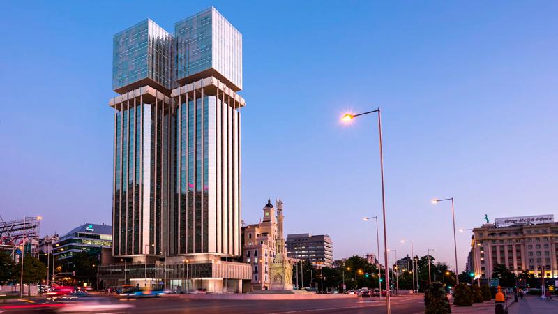 El proyecto espera convertir las emblemáticas Torres Colón en un icono sostenible de la ciudad de Madrid.