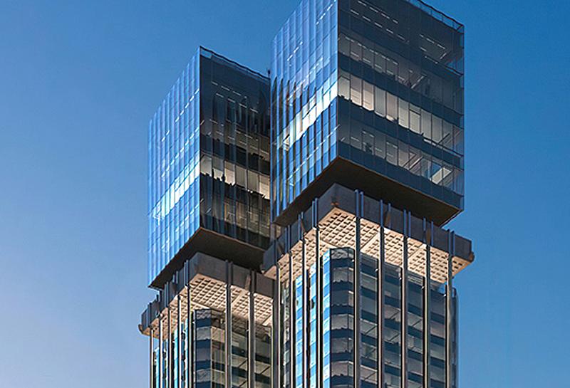 Detalle de las nuevas cuatro plantas que sustituirán el conocido enchufe del edificio.