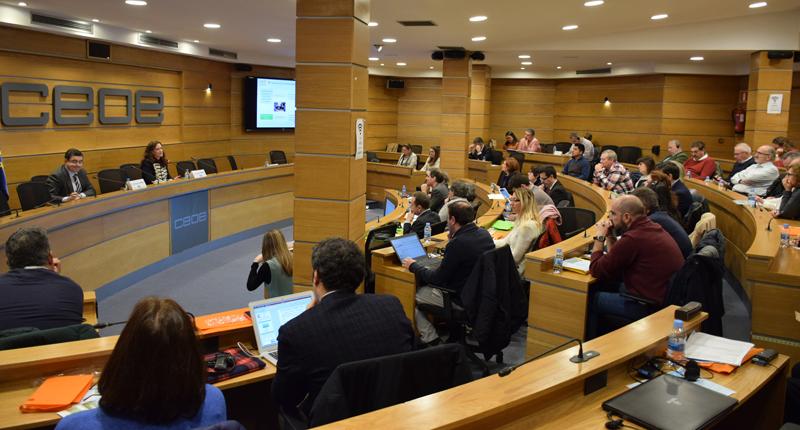 Carmen Prieto habló del fomento de las competencias para una construcción sostenible en la FPE.