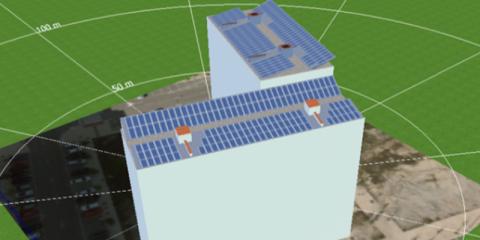 Solarhaus: Edificio de energía positiva en bloque de 38 viviendas VPT con instalación de autoconsumo en Ripagaina (Navarra)