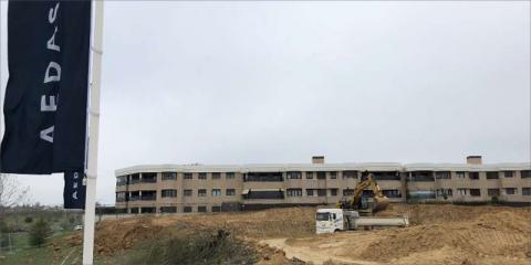 Comienza la construcción de los edificios de consumo casi nulo de la promoción residencial Escalonia III en Las Rozas