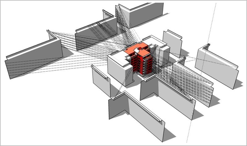 Modelado del edificio.