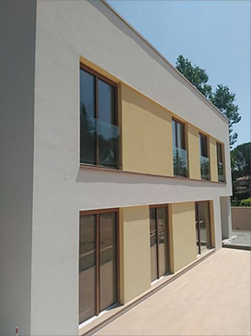 Figura 6. Casa Apolonia fachada sur.