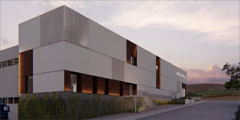 Edificio de oficinas Artica Textile