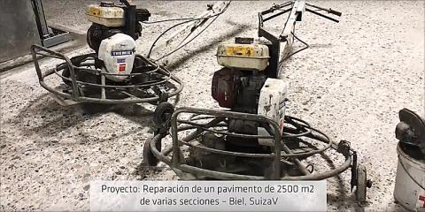 Reparación de pavimentos industriales – Sika España