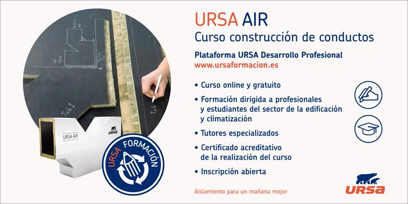 Curso de climatización de URSA.