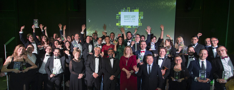 foto ganadores de premios breeam 2020