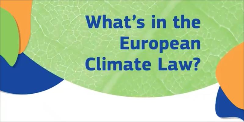 ley del clima de la UE