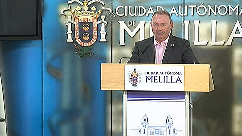 El viceconsejero de Energías Renovables y Políticas Ambientales de la Ciudad Autónoma de Melilla, Francisco Vizcaíno