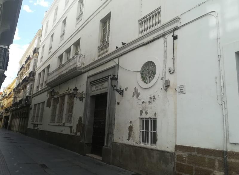 Instituto Santa María del Rosario, en Cádiz.