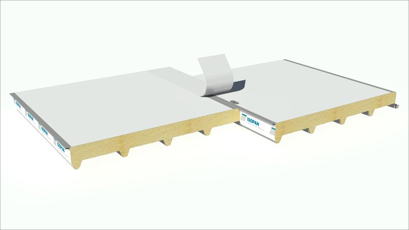 Sistema PVSteel PU-Poliuretano de Isopan.