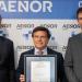 El fabricante de cemento y hormigón LafargeHolcim recibe el certificado de control de producción de AENOR