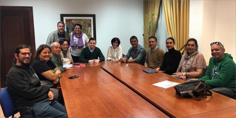 El concejal de Medio Ambiente, Patrimonio y Ordenación del Territorio mantuvo un primer encuentro con representantes de asociaciones roqueteras.
