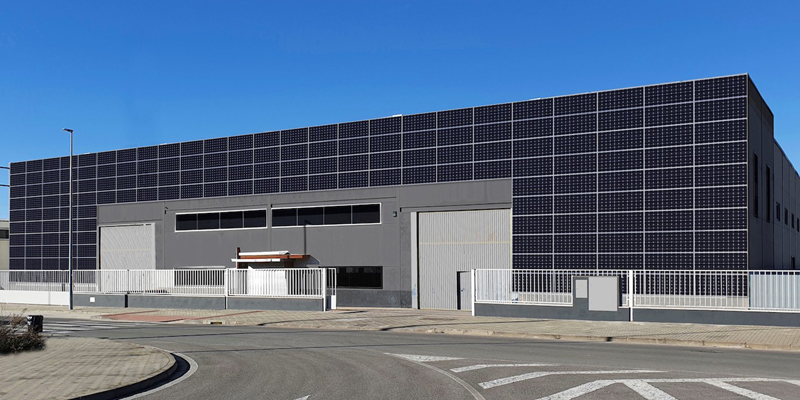 fachada solar ventilada de EnchufeSolar