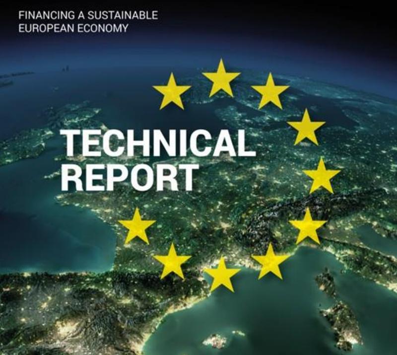 informe final de Taxonomía de la UE