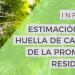 El estudio 'Estimación de la huella de carbono de la promoción residencial' analiza las emisiones de la construcción