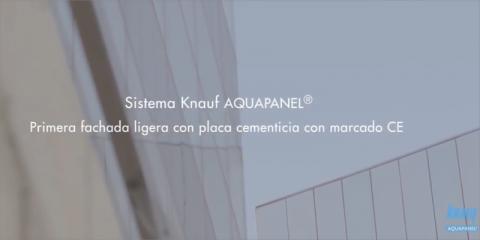 Sistemas de fachada ligera Knauf Aquapanel