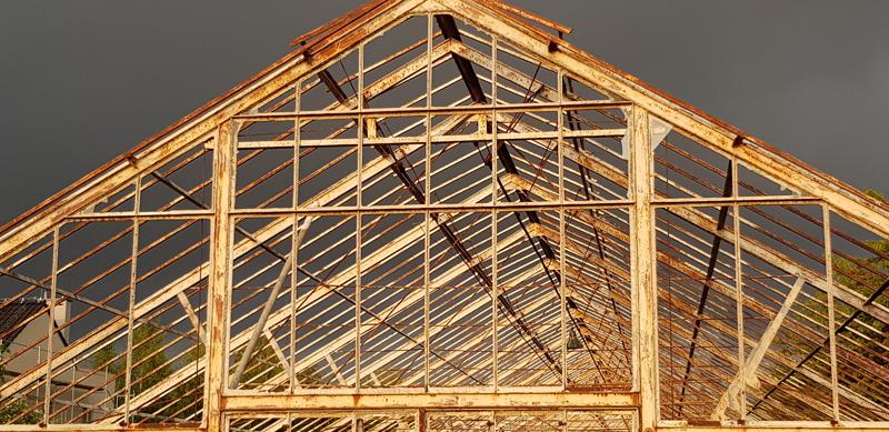 construcción tejado de madera