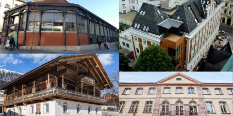 Ejemplos de buenas prácticas en la rehabilitación de edificios históricos mediante la plataforma HiBERATLAS