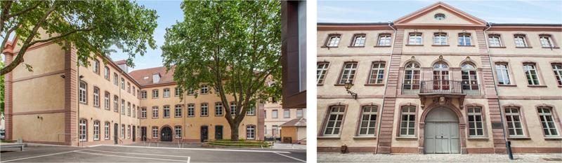 Escuela Elemental de Mulhouse, Francia, tras la rehabilitación.