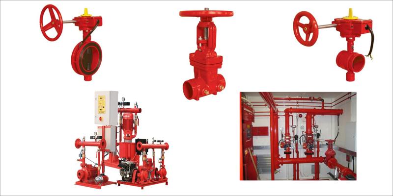 Novedades de las válvulas para sistemas contra incendios de Genebre.