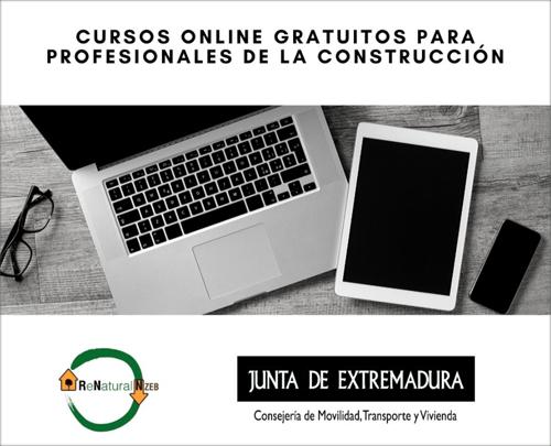 cursos online construccion sostenible extremadura