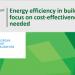El Tribunal de Cuentas Europeo insta a enfocar la financiación en el ahorro energético de los edificios