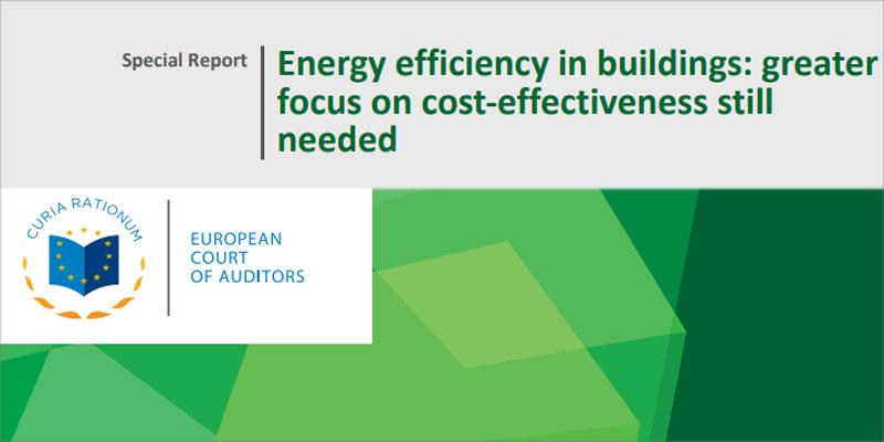 portada informe Tribunal de Cuentas Europeo