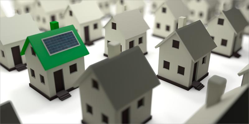 imagen de casas sostenibles