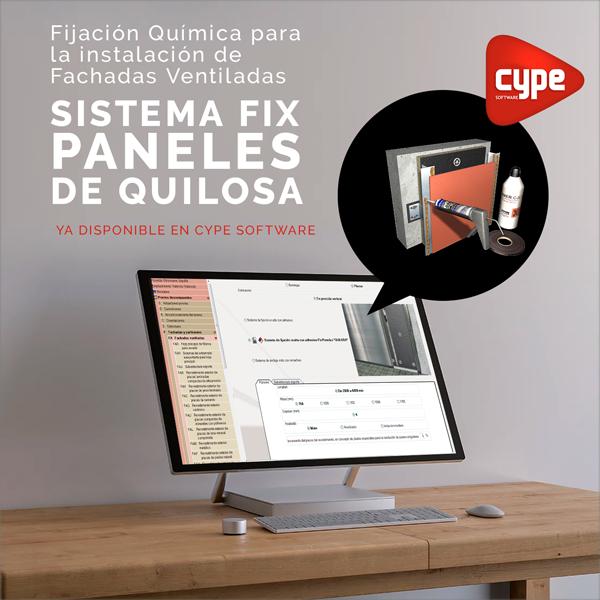 fachada ventilada Fix Paneles disponible en el generador de precios CYPE