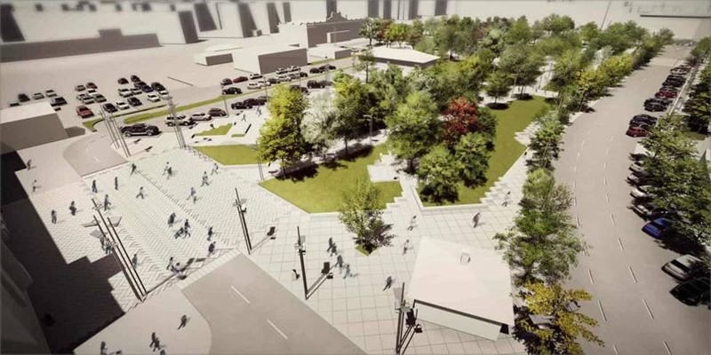 La plantación de árboles, la instalación de drenaje sostenible y la implementación de pavimento sostenible son las principales actuaciones de este proyecto de regeneración urbana.
