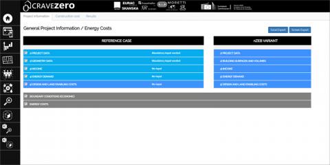 El proyecto CRAVEzero crea una calculadora del costo de ciclo de vida de los ECCN