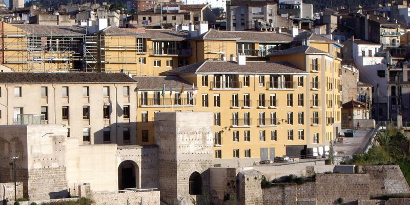 Casco antiguo de Alcoy, en el que se llevará a cabo actuaciones de regeneración urbana.
