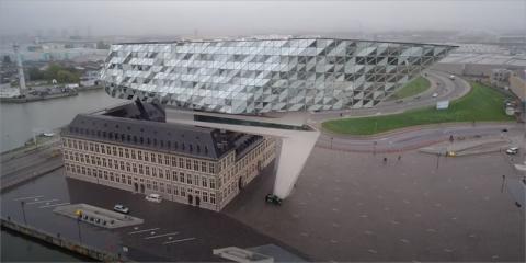 RENOLITALKORPLAN en Port House Antwerp
