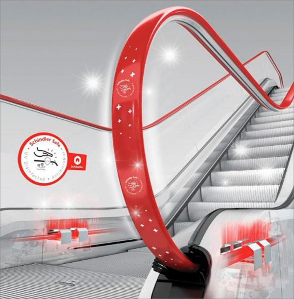 escaleras mecánicas de schindler