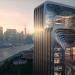 Edificio sostenible en Shanghái con paneles fotovoltaicos y materiales reciclados