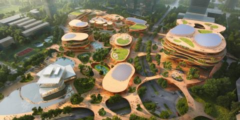 Shenzhen Terraces, el nuevo concepto de urbanismo verde que se construirá en China