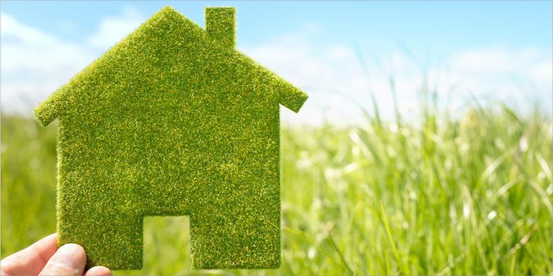 imagen sobre los edificios verdes sostenibles