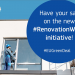 La Comisión Europea abre a consulta pública la iniciativa'ola de rehabilitación de edificios'