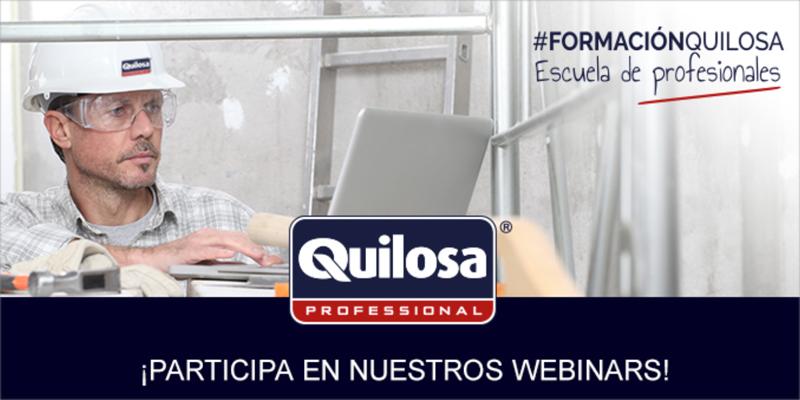 Hasta el 1 de julio los expertos de Quilosa impartirán webinars gratuitos enfocados en soluciones para la construcción sostenible.