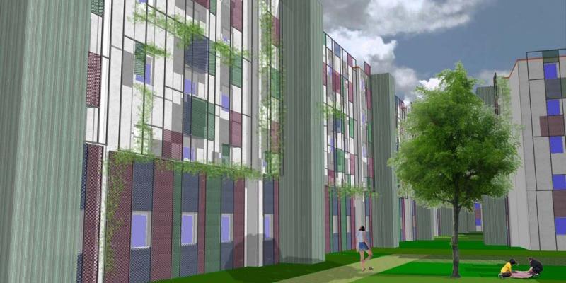 imagen que evoca la regeneración urbana de 'Raíces de Barrio'