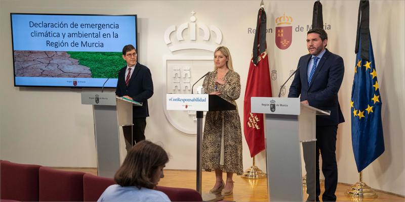 El Consejo de Gobierno aprobó el pasado 4 de junio la situación de emergencia climática y ambiental en la Región de Murcia.