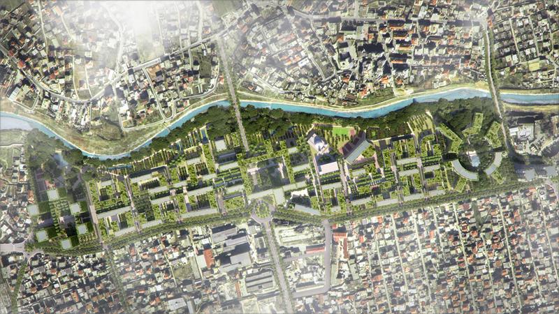 Tirana Riverside aúna tecnología, sostenibilidad y cercanía a todos los servicios en un espacio de 29 hectáreas.