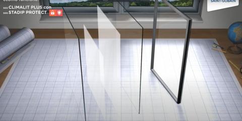 La seguridad en los vidrios CLIMALIT PLUS